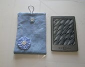 Kindle Sleeve Cover Pouch Handmade In France