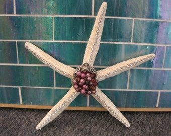 Embellished Starfish - Starfish - Starfish Ornament - Crystal Starfish - Coastal Home Decor - Beach - Beach Wedding