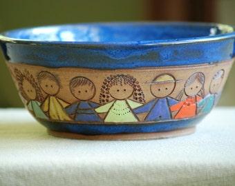 Circle of Children Gift Bowl
