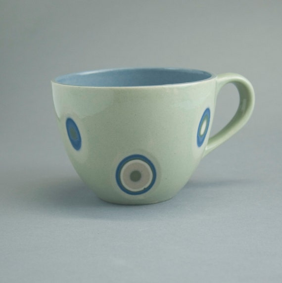 Ceramic Cup Stoneware Cup Morning Coffee Tea Cup By Imkadesign