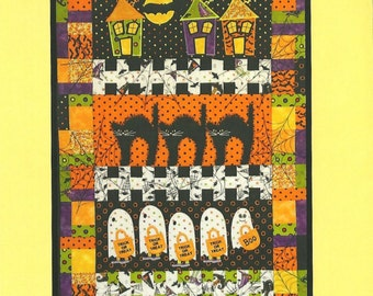 Smith Street Design, Tricks and Treats Pattern, by Kathleen Connor for Smith Street Designs.