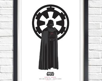 Star Wars - Solo Series - Darth Vader - 19x13 Poster