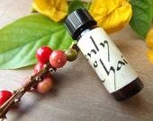 Heavenly Chai - Artisan Botanical Perfume - Warm, Inviting, Sumptuous - Cinnamon & Spice - Sweet Orange, Ginger, Cardamom, Clove, Nutmeg