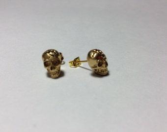 Skull Earrings (gold,silver)