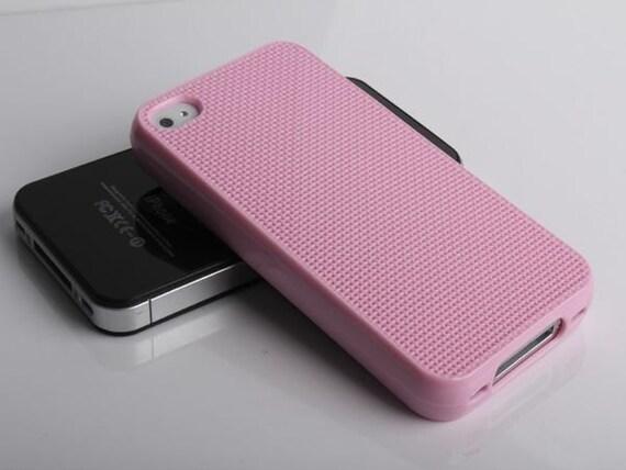 Neostitch pink cross stitch iphone 4/4S case