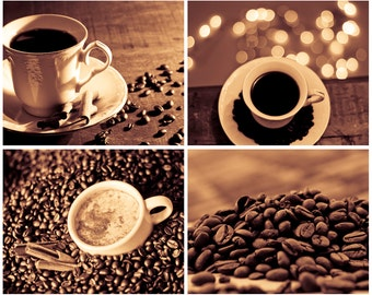 Coffee Wall Art coffee photography digital download photograph art for
