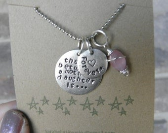 Mother/ Daughter necklace