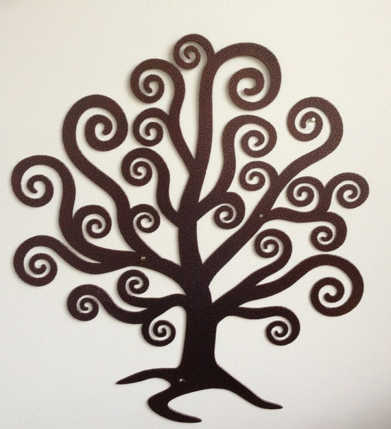 tree of life metal wall art garden love organic spirit. Black Bedroom Furniture Sets. Home Design Ideas