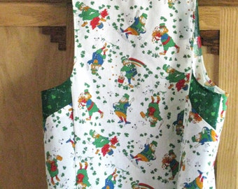 Full Apron for St. Pat's Day Fun