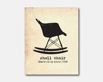 Popular items for shell chair on etsy for Eames schalenstuhl