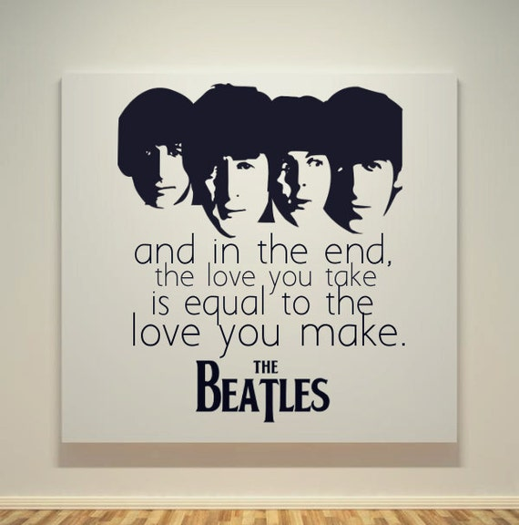 Best Quotes From The Beatles: Beatles Quotes About Love. QuotesGram