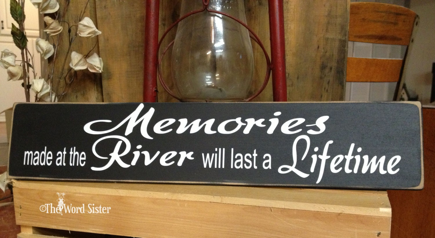 River House Decor River Signs Rustic Home Decor