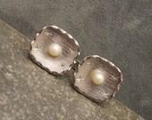 Vintage Pearl Cufflinks H397