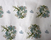 chic gift wrapping paper glitter present large flower vintage shabby chic style Qty 1