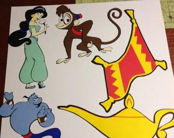 Aladdin die cuts