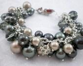 Pearl and Crystal Bracele...