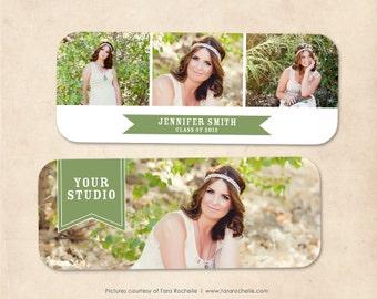 Senior Rep Card Template Photoshop Senior Announcement