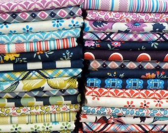 Denyse Schmidt for Free Spirit Fabrics Shelburne Falls Collection 30 Piece Fat Quarter Yard Bundle
