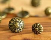 20 PCS Vintage Metal Push Pins - Iron Push Pin - Thumbtack - Drawing Pin