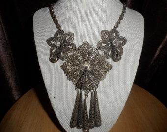 Antique Filagree Necklace