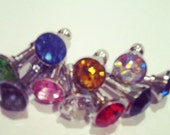 Glam Rhinestone Jewel Anti Dust Plug for iPhone 3,4/4s,5