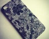 iPhone 5 Faux Lace Print case