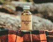 1 Ounce of The Woodsman Fine Beard Oil.