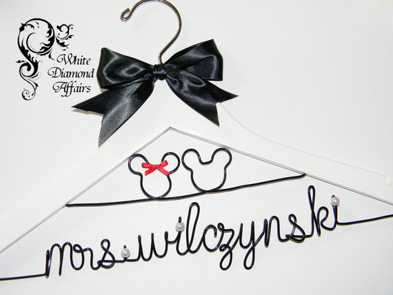 Personalized Disney Wedding Gifts: Mickey And Minnie Mouse Disney Themed By WhiteDiamondAffairs
