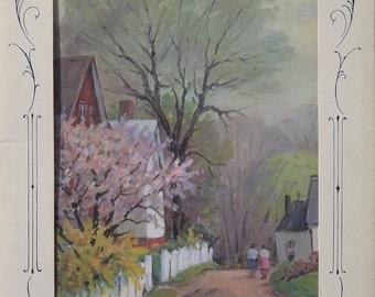 Four Seasons Nature Prints Vintage Portfolio Set of Prints From Ideals Publishing Co.