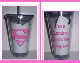 Super Grandma Tumblers
