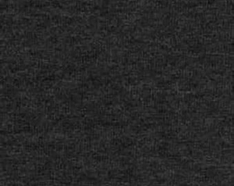 Charcoal Gray Classic Fleece Fabric, 60 Inches Wide and Sold By The Yard