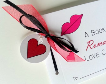 Romantic Love Coupon Book Valentine Coupon Book Romantic Favor Coupons for Romance Gift for Lovers Happy Anniversary Adult Coupon Book