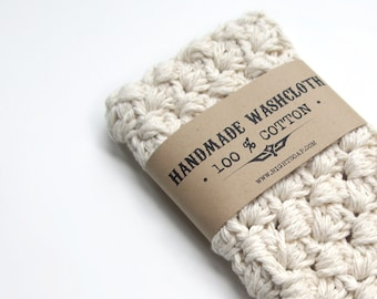 WASHCLOTH - 100% COTTON, handmade washcloth, wash cloth, crochet washcloth