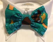 Perry the Platypus print BowTie