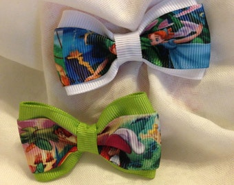 Peter Pan Neverland Hair Bow - 2 inches