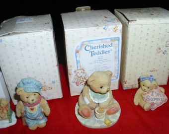 15 Cherished Teddies ..FREE shipping !!