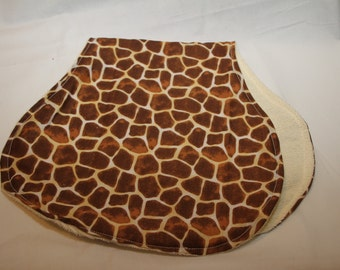 One (1) GiraffeBurp Cloth