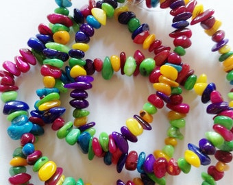 Multicolor Agate Beads 3mm-8mm (32 Inch Strand)