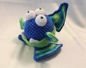 Amigurumi Crochet Pattern - Squish the Gumball Dragon