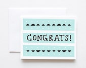 Congrats Card- Deco