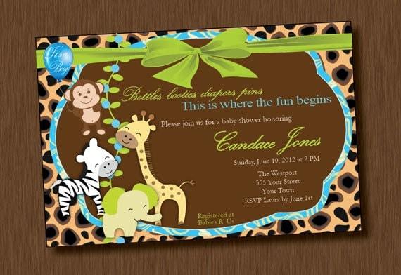 Baby Boy Elephant Invitations for luxury invitations design