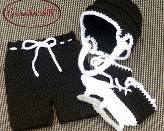 Free Crochet Pattern Baby Hockey Skates : Popular items for baby boys hockey on Etsy
