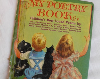 1954 My Poetry Book - Best Loved Poems