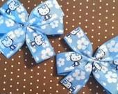 Blue Hawaiian Hello Kitty Inspired Piggy set