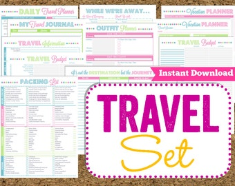 family vacation planner template