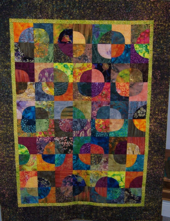 Paradise Punch Quilt PDF Pattern instant download