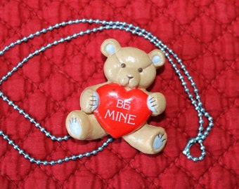 Teddy Bear with Be Mine Heart