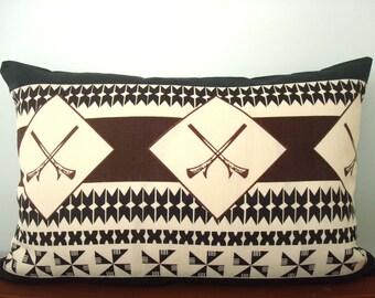 Fiji Island Masi/Tapa Cushion Cover 40 x 60cm