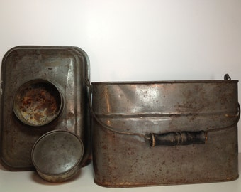 Antique Lunch Box - Early 1900s
