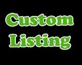 Custom Wayfarer Sunglasses Listing for Christina
